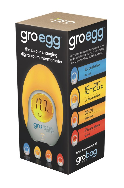 The Gro Company Gro Egg Digital Room Thermometer Amp Night