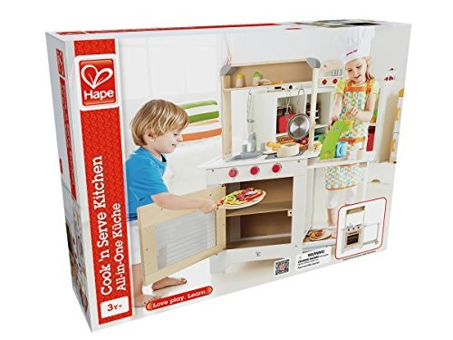 hape cook n 39 serve wooden kitchen play set buy online at ForKitchen Set Nz