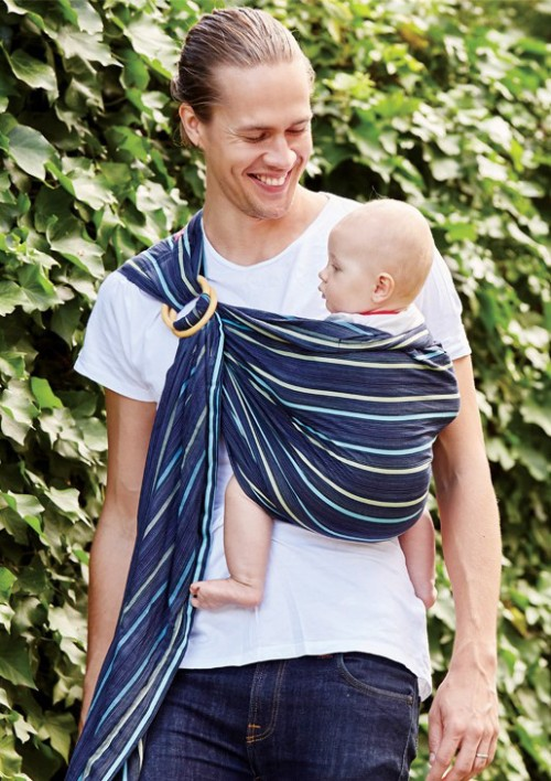 Mamaway Baby Ring Sling Ocean Lanna Buy Online At The Nile