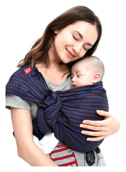 Mamaway Baby Ring Sling Blueberry Brownie Buy Online At The Nile