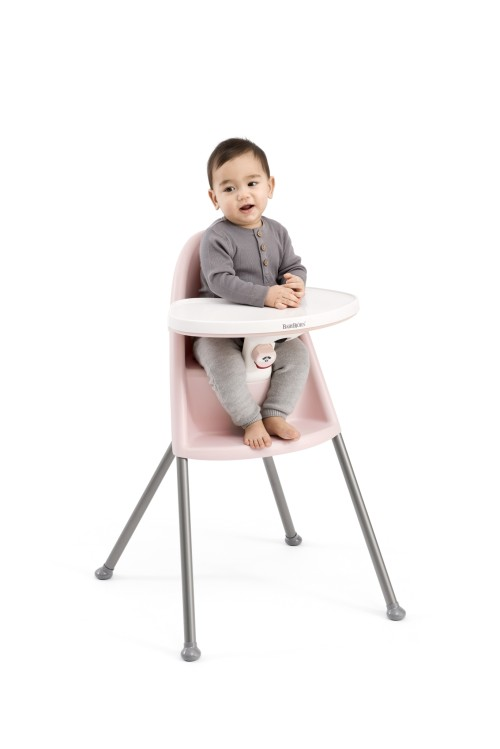 BabyBjorn High Chair (Pink/Grey)